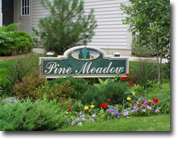 Pine meadow index picture sign