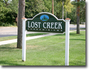 lost creek sign