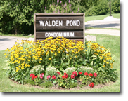 waldon pond sign